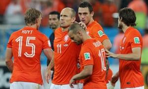 Wesley Sneijder, post penalty