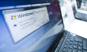 Microsoft provides a free Office Compatability Pack for downloads but  upgrading to Windows 8 is a better option. Photograph: Action Press/Rex  Features