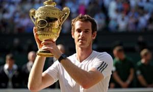 Andy Murray wins Wimbledon, July 2013