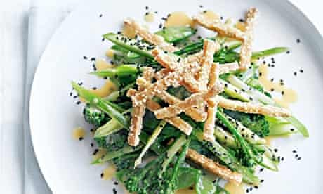 Donna Hay's crispy tofu salad