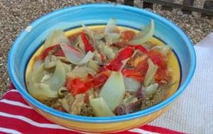 Escalivada, a Catalan dish full of colour, flair and flavour. España!!