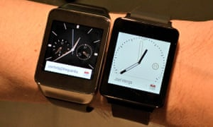 LG G Watch and Samsung Gear Live