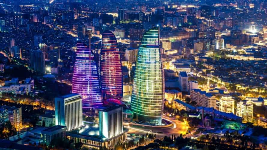 "Baku's ""Flame Towers"""