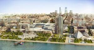 Baku White City