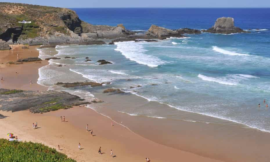 Praia da Zambujeira, Portugal.