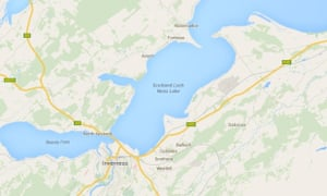 Monster mix up on Google Maps labels Moray Firth \'Loch Ness Lake ...