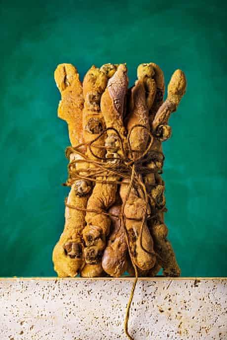 Paul Hollywood's olive breadsticks