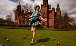 Glasgow 2014 dress