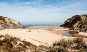 Carvalhal beach, Alentejo, Portugal.