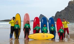 Odeceixe Surf School, Portugal