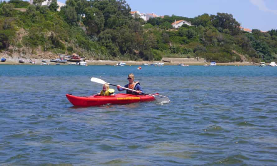 Nature Activities kayaking.