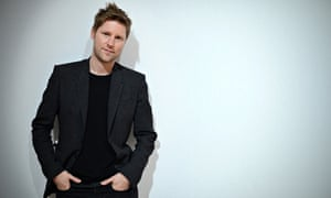 Christopher Bailey before his Burberry Prorsum catwalk show.