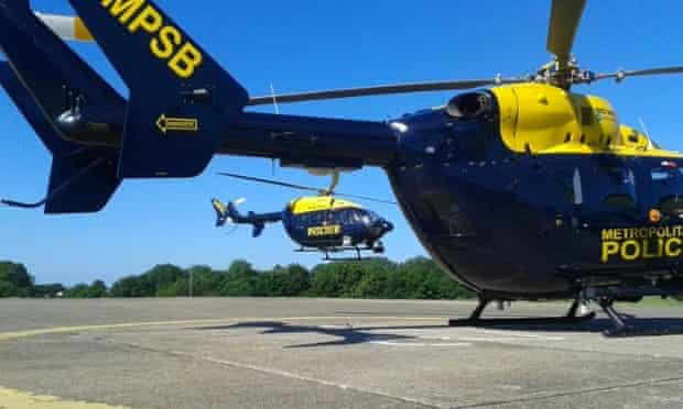 Metropolitan police helicopters