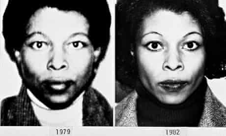 FBI photo file showing the different appearances of Assata Shakur.