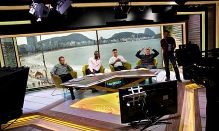 ITV World Cup studio