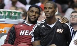 LeBron James, Chris Bosh
