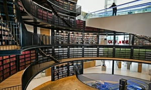 The new Library of Birmingham, the largest in Europe and a major source of civic pride