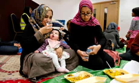 Breaking the fast Harrow Central Mosque