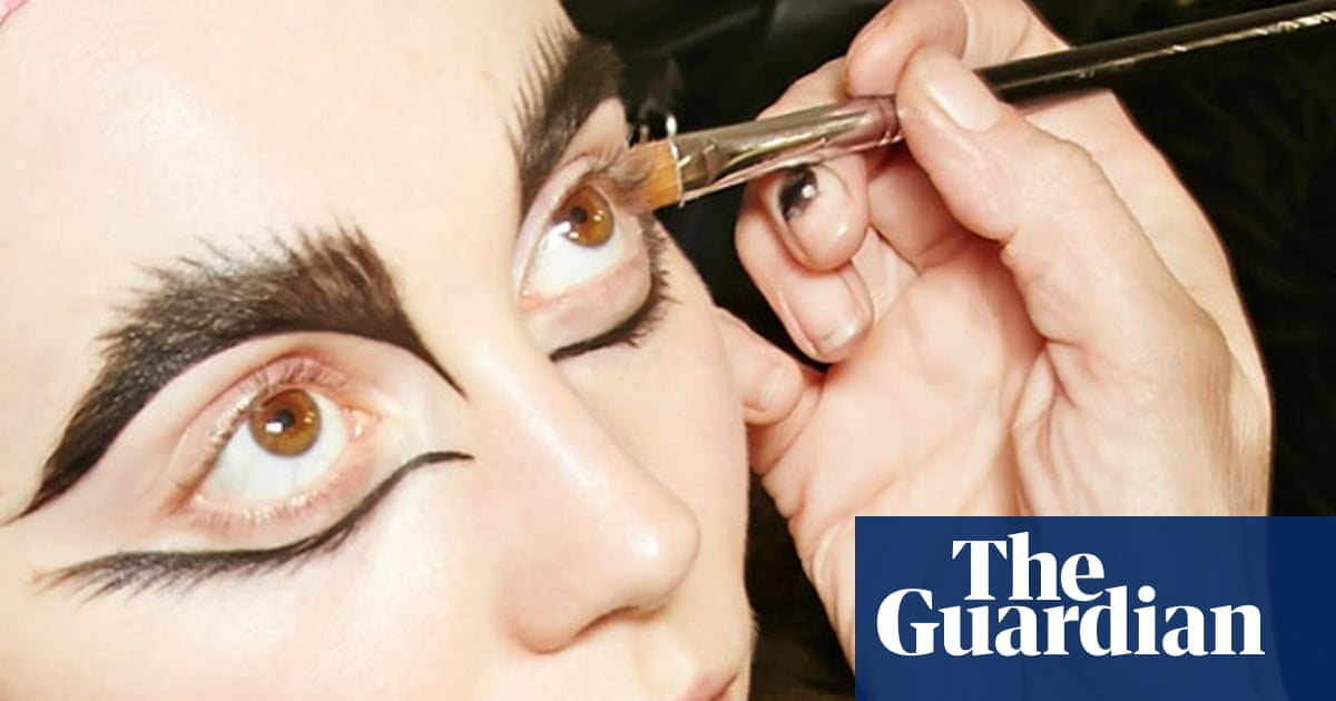 Powerful dolls backstage at Paris Fashion week – in pictures