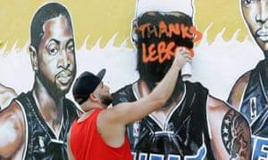 LeBron Miami fan