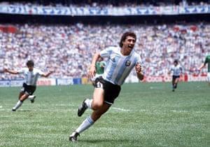 1986 world cup final:  Jorge Valdano