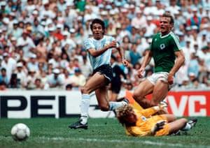 1986 world cup final: Buuruchaga