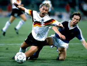 1990 world cup final: Sensini fouls voller