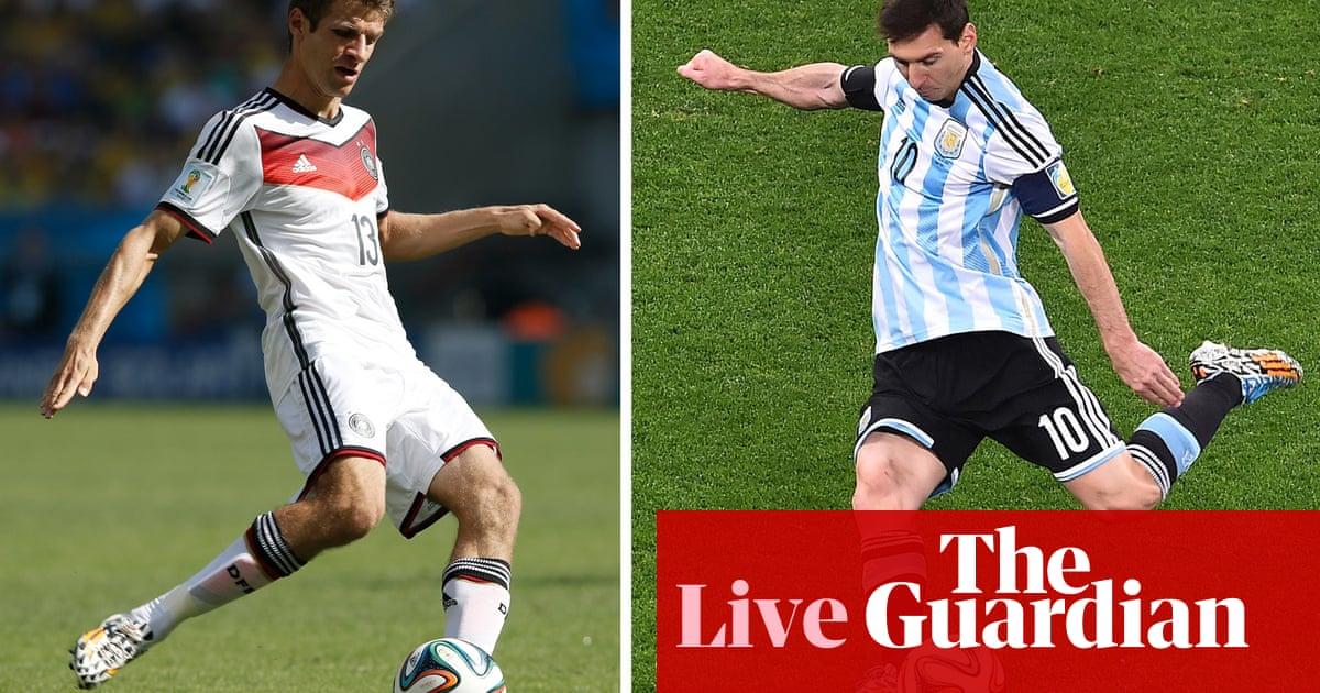 World Cup 2014 Final Countdown To Germany V Argentina As