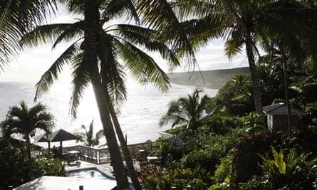 Niue tourist resort