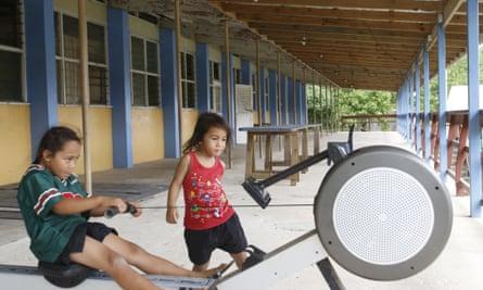 Niue former school