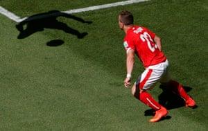 Best of the World Cup: Switzerland's Xherdan Shaqiri