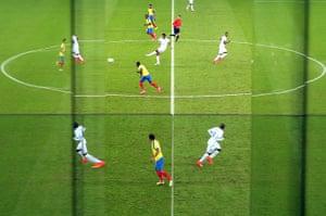 Best of the World Cup.: Honduras v Ecuador: Group E - 2014 FIFA World Cup Brazil