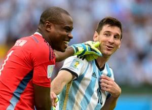 Best of the World Cup.: Nigeria v Argentina - Estadio Beira-Rio