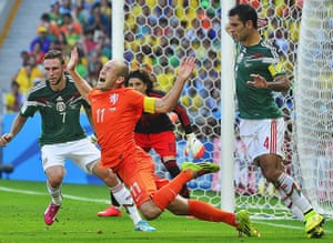 Best of the World Cup.: Round of 16 - Netherlands vs Mexico