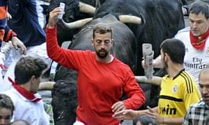 Pamplona selfie