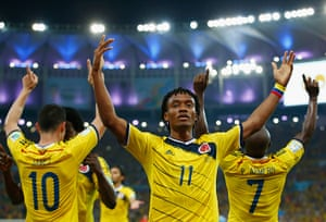 Best of the World Cup..: Colombia v Uruguay