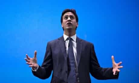 Labour Leader Ed Miliband at The Science Museum