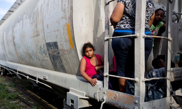 Most of the unaccompanied children are fleeing violence and poverty in Central American nations, and must pass through dangerous stretches of Mexico.