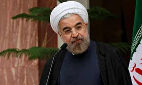 Iran President Hassan Rohani In Tehran