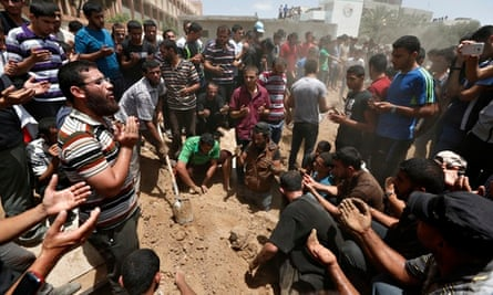 Gaza - police chief's cousin's house