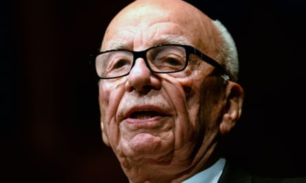 This October 31, 2013 file photo shows News Corp's Executive Chairman Rupert Murdoch, as he speaks  in Sydney.