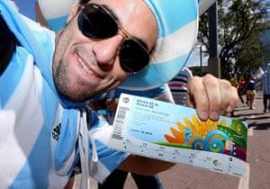 sport: Germany v Argentina - FIFA World Cup Brazil 2014 - Final
