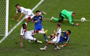 sport-: Germany v Argentina: 2014 FIFA World Cup Brazil Final