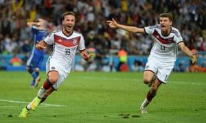 Some happy Germans.