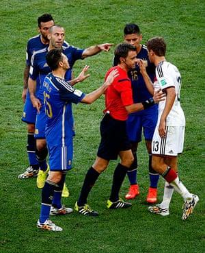 footy..: Germany v Argentina: 2014 FIFA World Cup Brazil Final