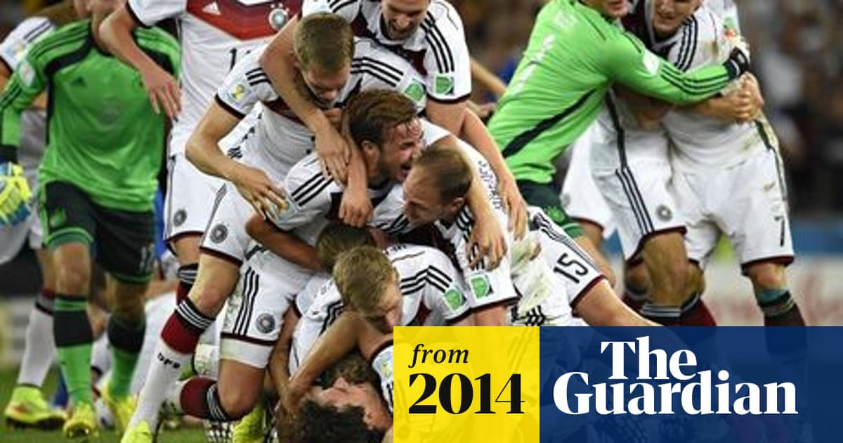 World Cup 2014 Mario Gotze S Stunner Wins Cup For Germany For Fourth Time Football The Guardian