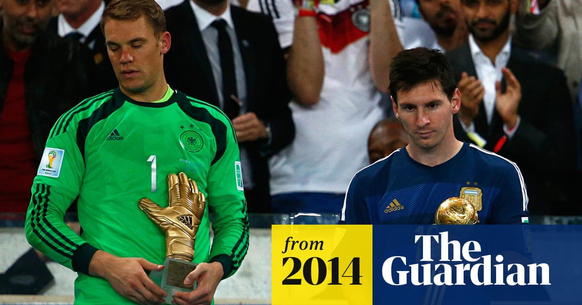 Lionel Messi Wins Golden Ball Award For Best Player Of World Cup Lionel Messi The Guardian