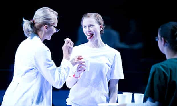 Anna McGahan and Angie Milliken in STC/QTC's co-production of The Effect