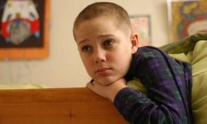 Ellar Coltrane, aged nine, in Boyhood