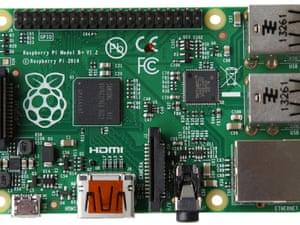 Raspberry Pi B+ model